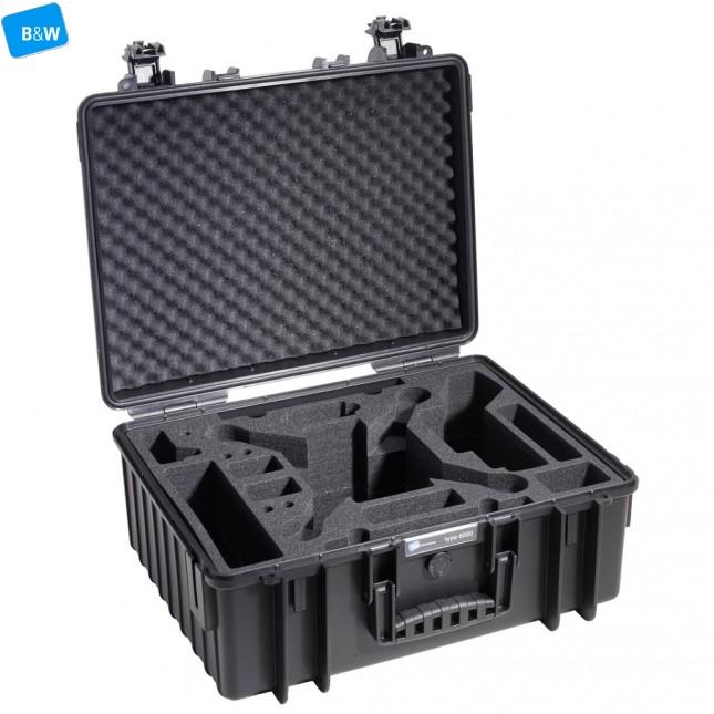 Кейс пластиковый B&W #6000, DJI Phantom, черный