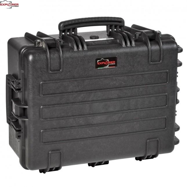 #5325 Кейс - Ящик пластиковый Explorer, черный