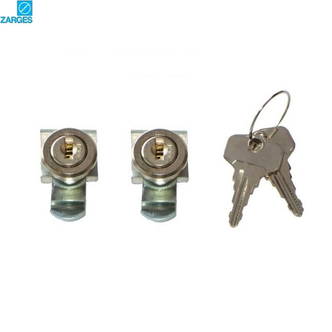 Комплект замков встраиваемый (одинаковые ключи) Zarges #40832