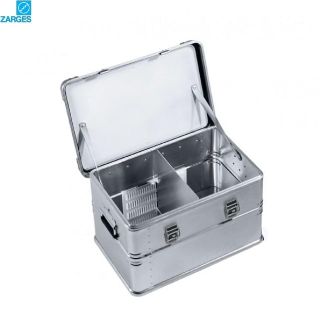 Перегородка алюминиевая Zarges #40866 в ящике 1