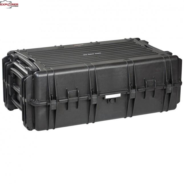 #10840 Ящик - Контейнер пластиковый Explorer, черный