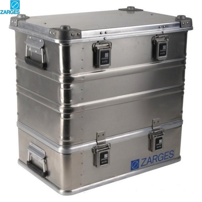 Ящик алюминиевый транспортировочный Zarges K470 Plus #40500/40502