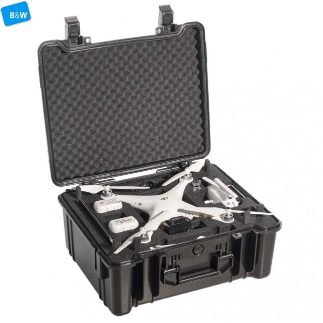 Кейс пластиковый B&W type61, черный, DJI Phantom3