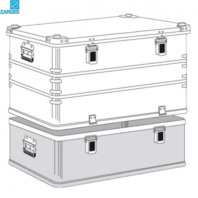 Ящик алюминиевый транспортировочный Zarges K470 Plus #40504/40505
