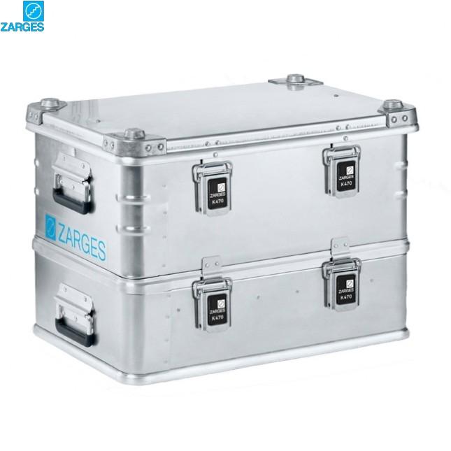 Ящик алюминиевый транспортировочный Zarges K470 Plus #40500/40501