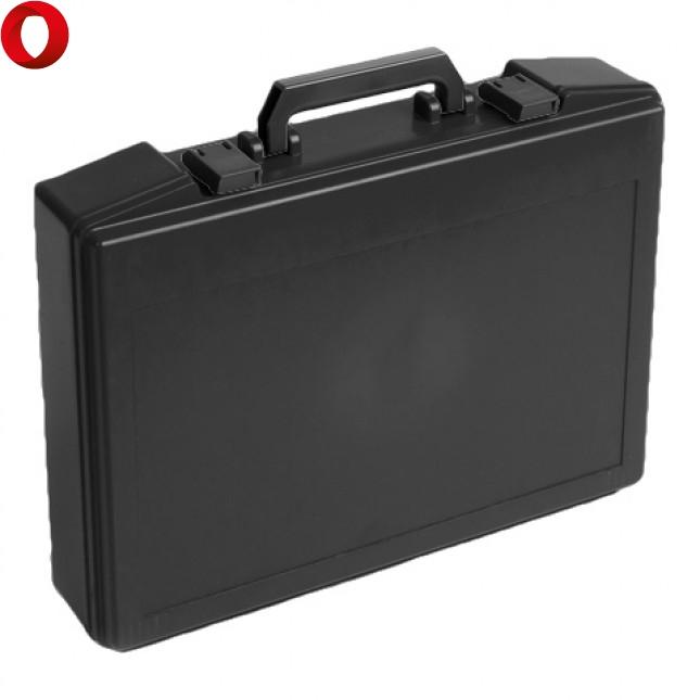 Кейс пластиковый PLASTON T81, чёрный, пустой