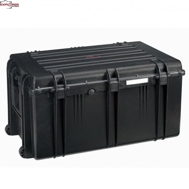 #7641 Ящик - Контейнер пластиковый Explorer, черный