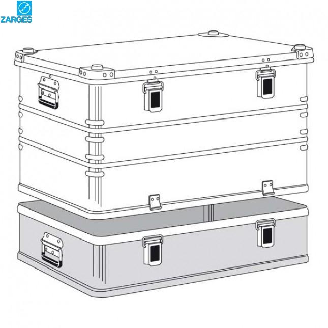 Ящик алюминиевый транспортировочный Zarges K470 Plus #40503/40505