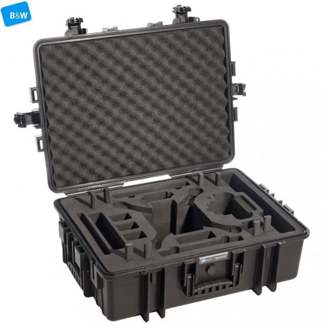 Кейс пластиковый B&W #6000, чёрный, пустой