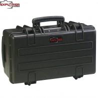 #5122 Кейс - Контейнер пластиковый Explorer, черный