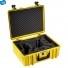 Кейс пластиковый B&W #6000, DJI Phantom, желтый