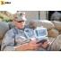 Кейс - футляр пластиковый Peli #i1015 для iPhone, солдат в поле