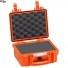 #2209 Кейс пластиковый Explorer, оранжевый, просечной поропласт