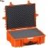 #5822 Кейс - Ящик пластиковый Explorer, оранжевый, просечной поропласт