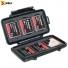 Кейс - футляр пластиковый Peli #0945 для compact Flash карт памяти - открытый с картами
