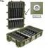 Ящик - Контейнер пластиковый Explorer #10840, зеленый, оружейный поропласт, индикатор влажности