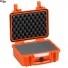 #2712 Кейс пластиковый Explorer, оранжевый, просечной поропласт