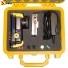 Кейс пластиковый Peli #1200, желтый, с поропластом