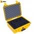 Кейс пластиковый Peli #1450, желтый, с модульными перегородками