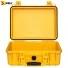 Кейс пластиковый Peli #1450, желтый, пустой