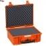 #4820 Кейс пластиковый Explorer, оранжевый, просечной поропласт