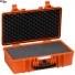 #5117 Кейс пластиковый Explorer, оранжевый, просечной поропласт