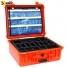 Кейс пластиковый Peli #1550-EMS, оранжевый, медицинский