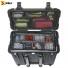 Кейс - контейнер пластиковый Peli #1440, черный, с модульными перегородками