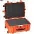 #5326 Кейс - Контейнер пластиковый Explorer, оранжевый, просечной поропласт