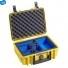 Кейс пластиковый B&W #1000 GoPro, желтый